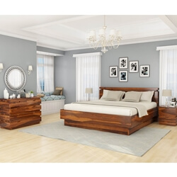 Modern Simplicity 4 Piece Bedroom Set