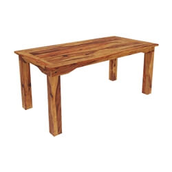 Idaho Modern Rustic Solid Wood Dining Table
