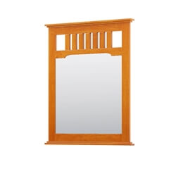 Longport Traditional Style Solid Mahogany Wood Large Mirror Frame