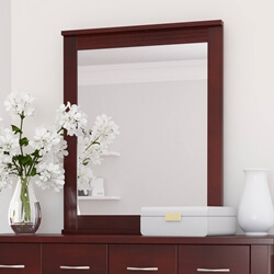 Amenia Solid Mahogany Wood Mirror Frame