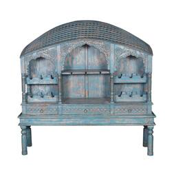 Sheridan Reclaimed Wood Furniture Heritage Antique Large Wine Rack
