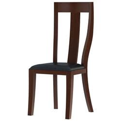 Cazenovia Solid Mahogany Upholstered Dining Chair