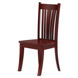 Barryton Solid Mahogany Wood Wing Back Dining Chair