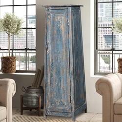 Wedowee Rustic Reclaimed Freestanding Storage Cabinet