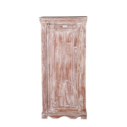 Cokeville Distressed Reclaimed Wood Single Door Storage Cabinet