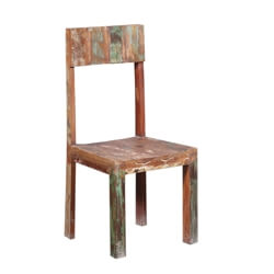 Watertown Handcrafted Rustic Reclaimed Wood Dining Chair