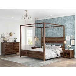 Irvin 4 Piece Contemporary Bedroom Set