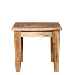 Beclabito Rustic Reclaimed Wood End Table