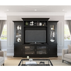 Baltimore Solid Wood Entertainment Center For TVs Up To 55""