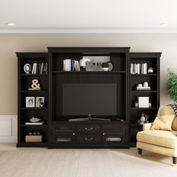Orick Solid Wood Entertainment Center For TVs up to 60""