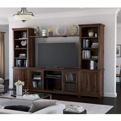 Towson Solid Wood Entertainment Center For TVs Up To 70""