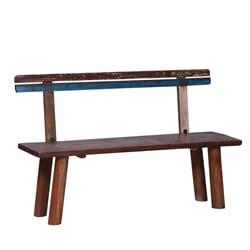 Milwaukie Reclaimed Wood Patio Garden Bench