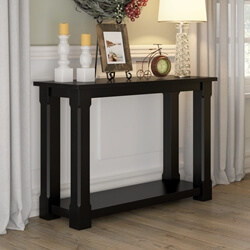 Brimson Contemporary Style Solid Wood Console Hall Table