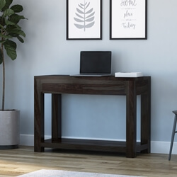 Glencoe Contemporary Style Solid Wood Console Hall Table