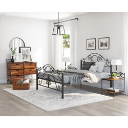 Nome 4 Piece Bedroom Set