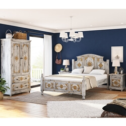 Tudor 4 Piece Bedroom Set