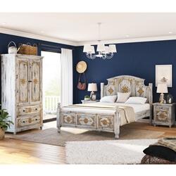 Tudor 4 Piece Bedroom Set