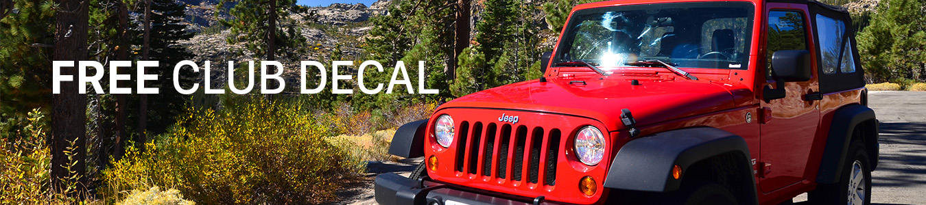 Jeep banner