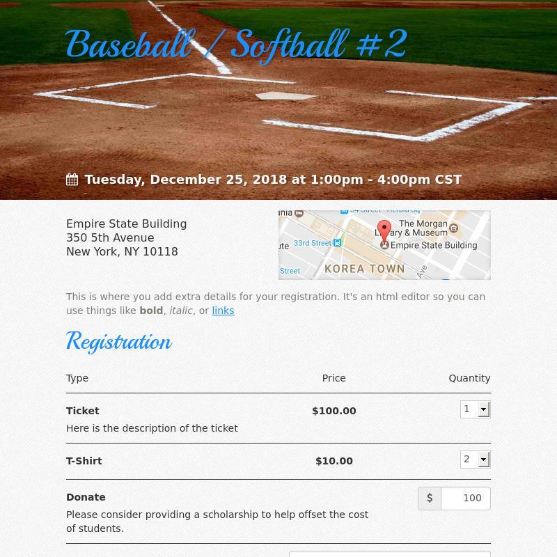 Baseball / Softball #2