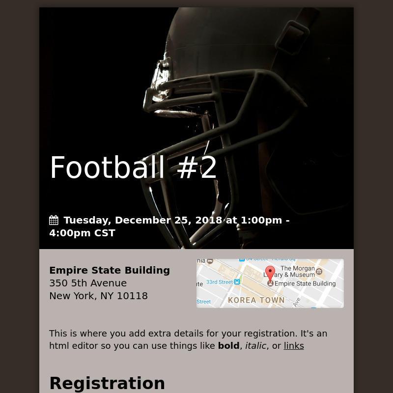 Football #2