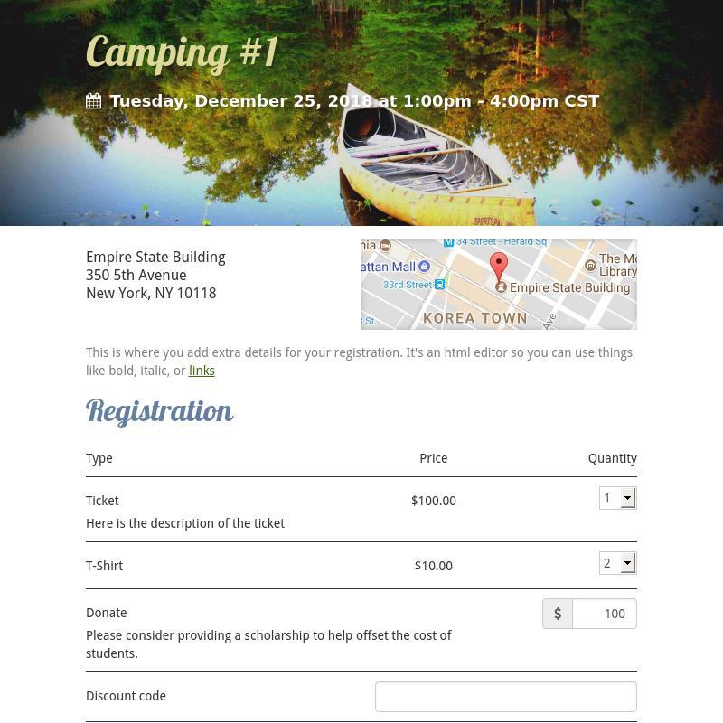 Camping #1