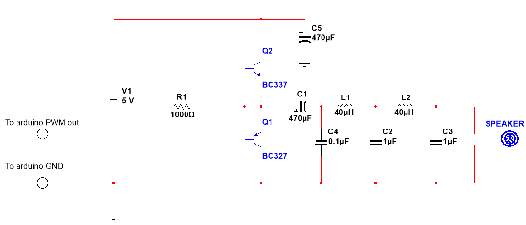Class D Amplifier for the Arduino – Silicon Junction