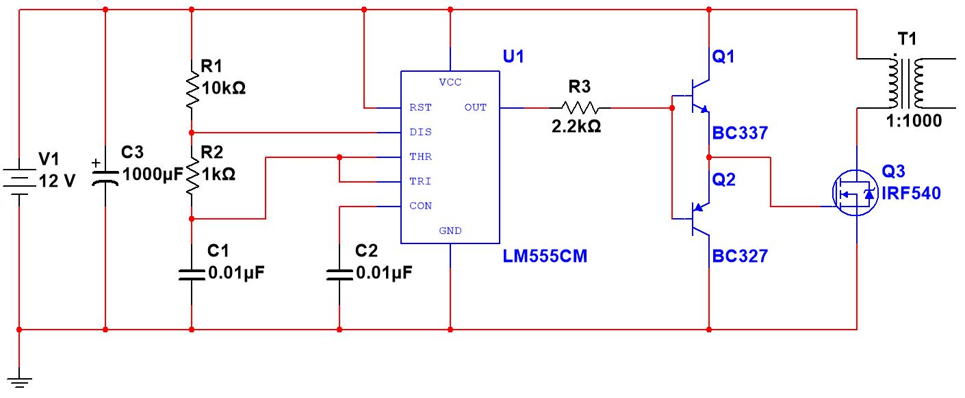 danger  high voltage  silicon junction