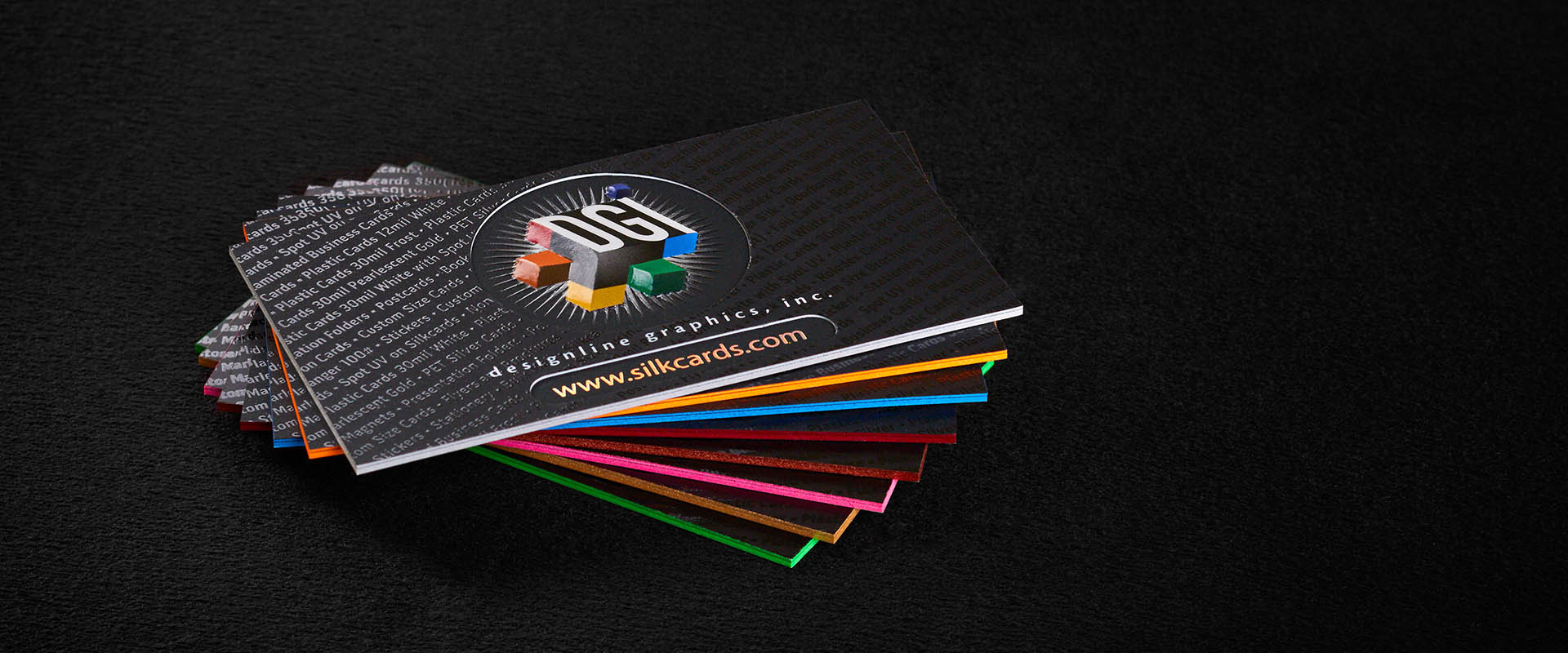 Raised spot uv silkcards 16pt suede xtreme 48pt with raised spot uv on the small lettering reheart Image collections