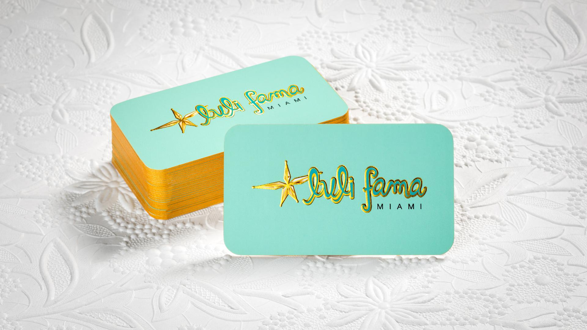 Suede Laminated Business Cards
