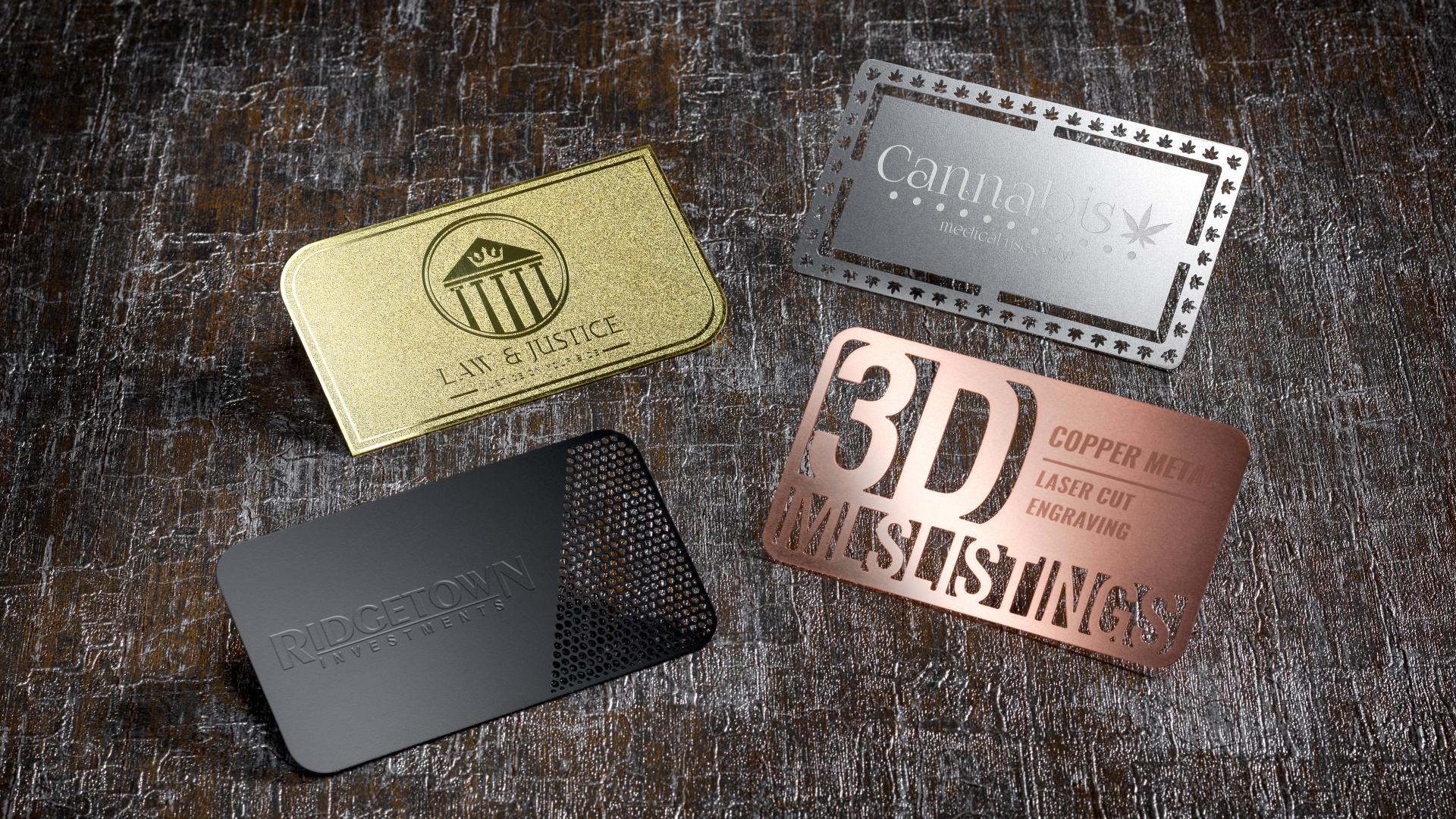 Metal Business Card Printing