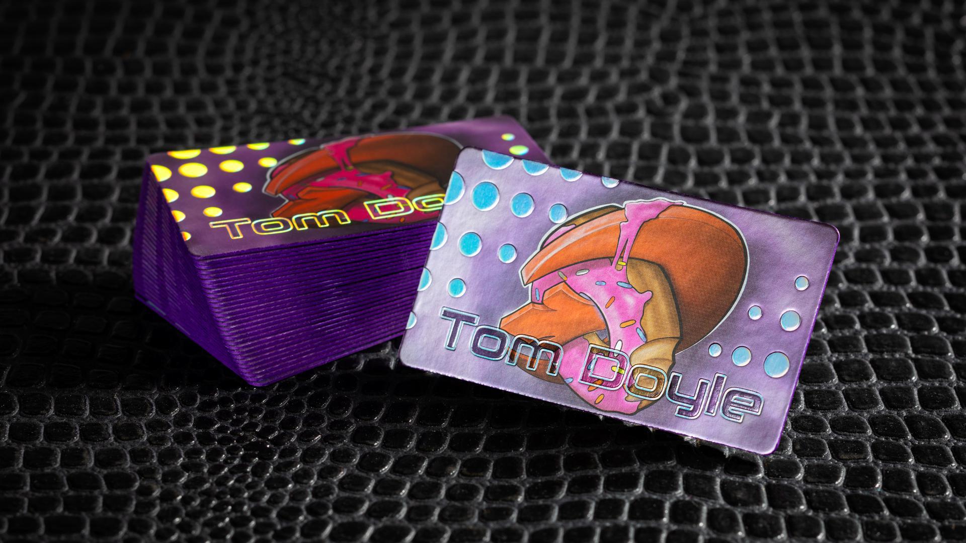 Cold Foil Cards