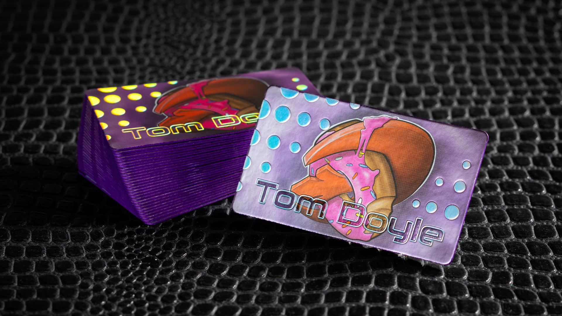Colored Edge Cards