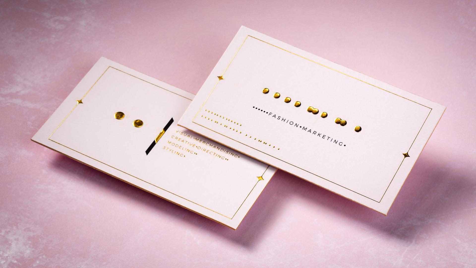 Embossed / Debossed Cards