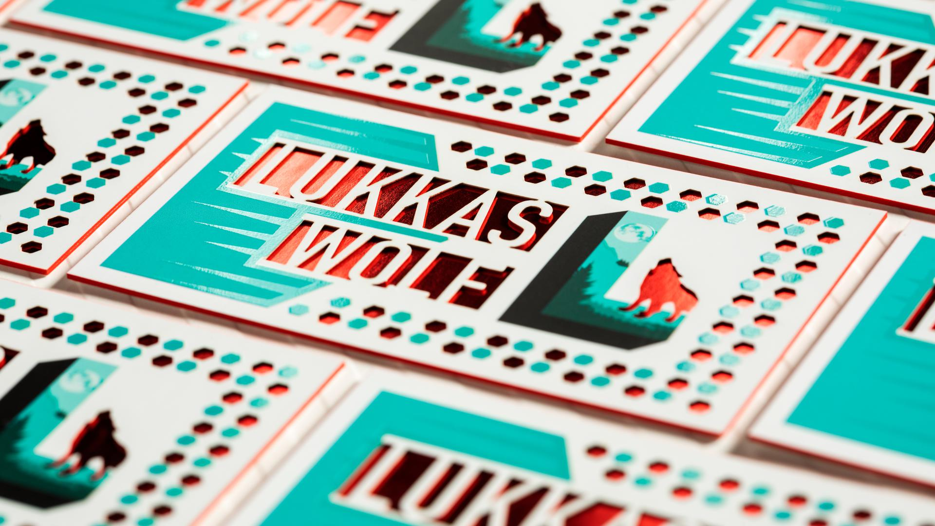 Thick 2 Layer Cards