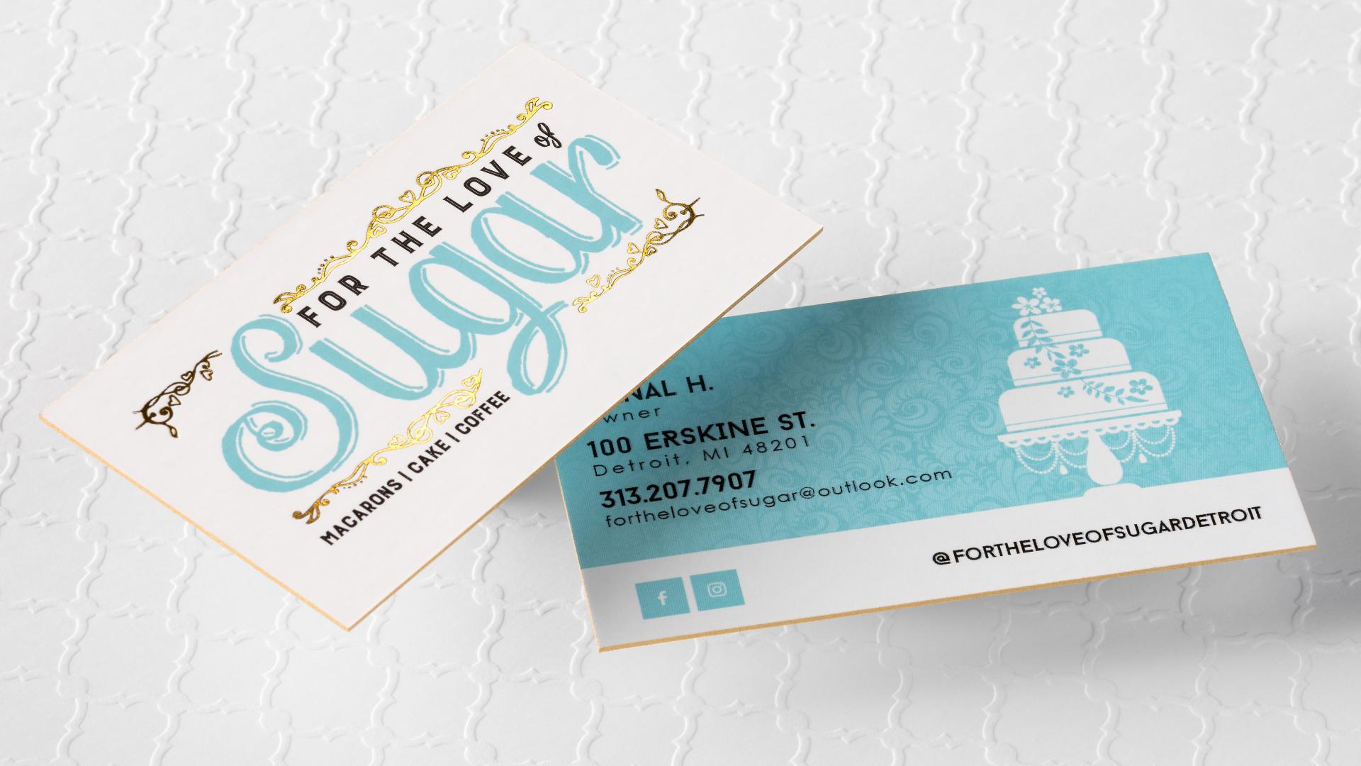 Restaurant Business Card Printing