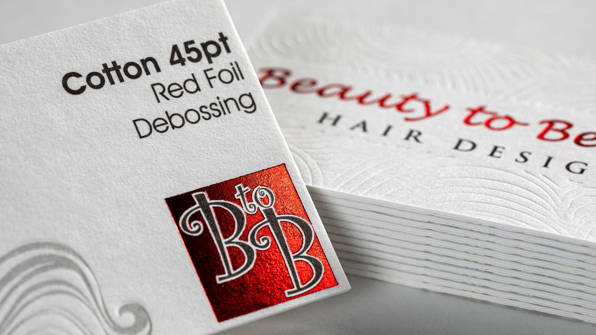 Health and Beauty Business Card Printing
