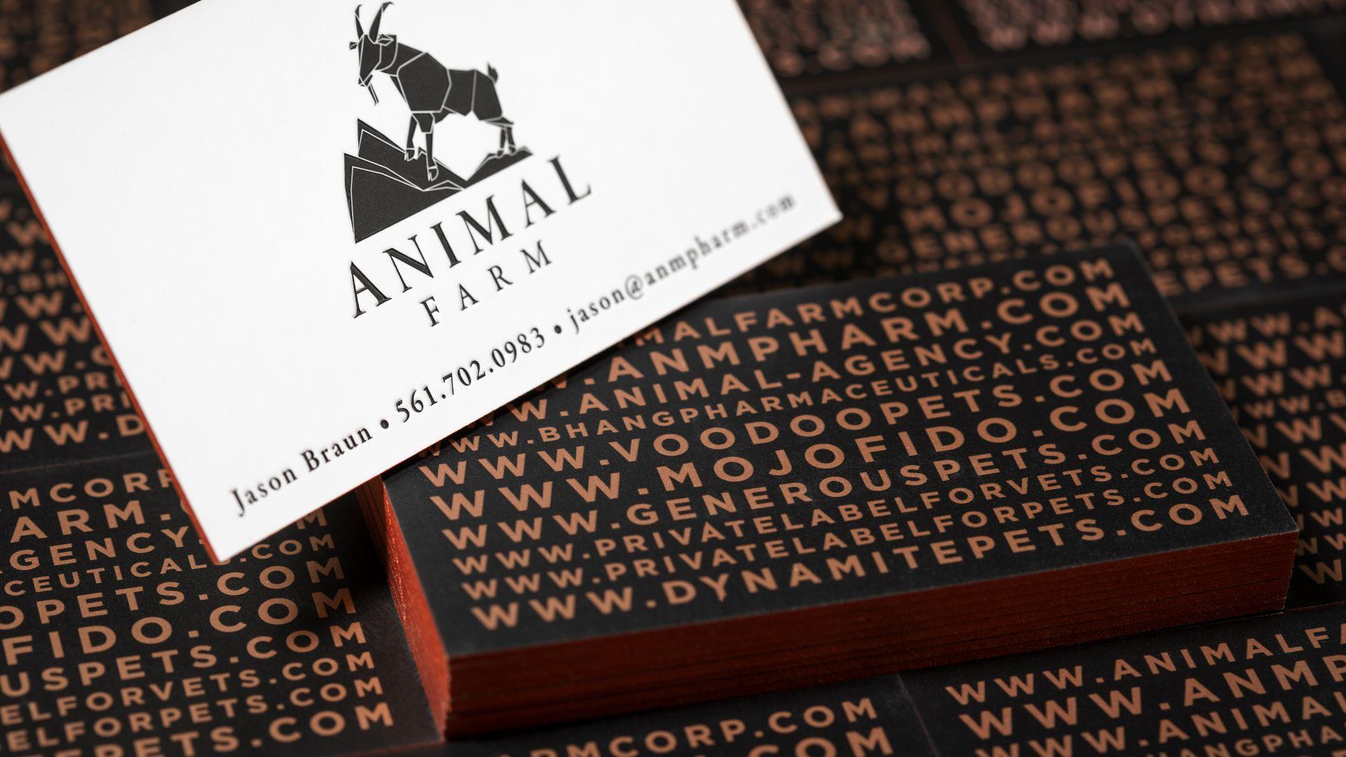 Metallic Ink Cards