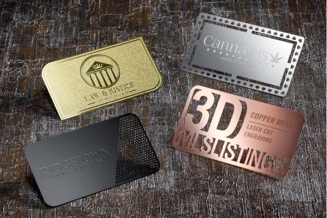 Metal Card Samples