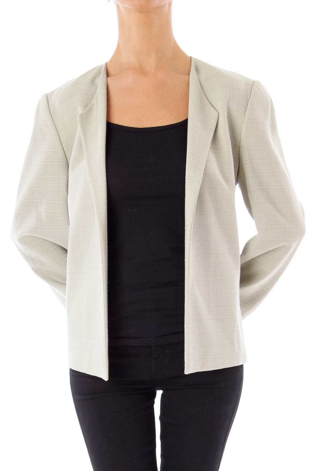 Pastel Green Tweed Jacket