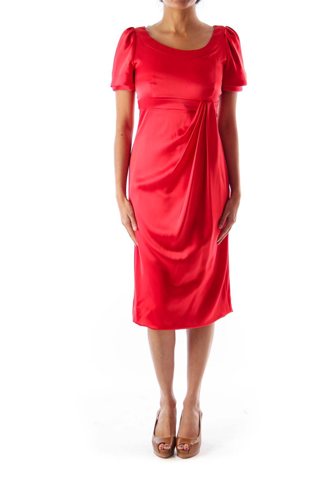 Red Empire Dress