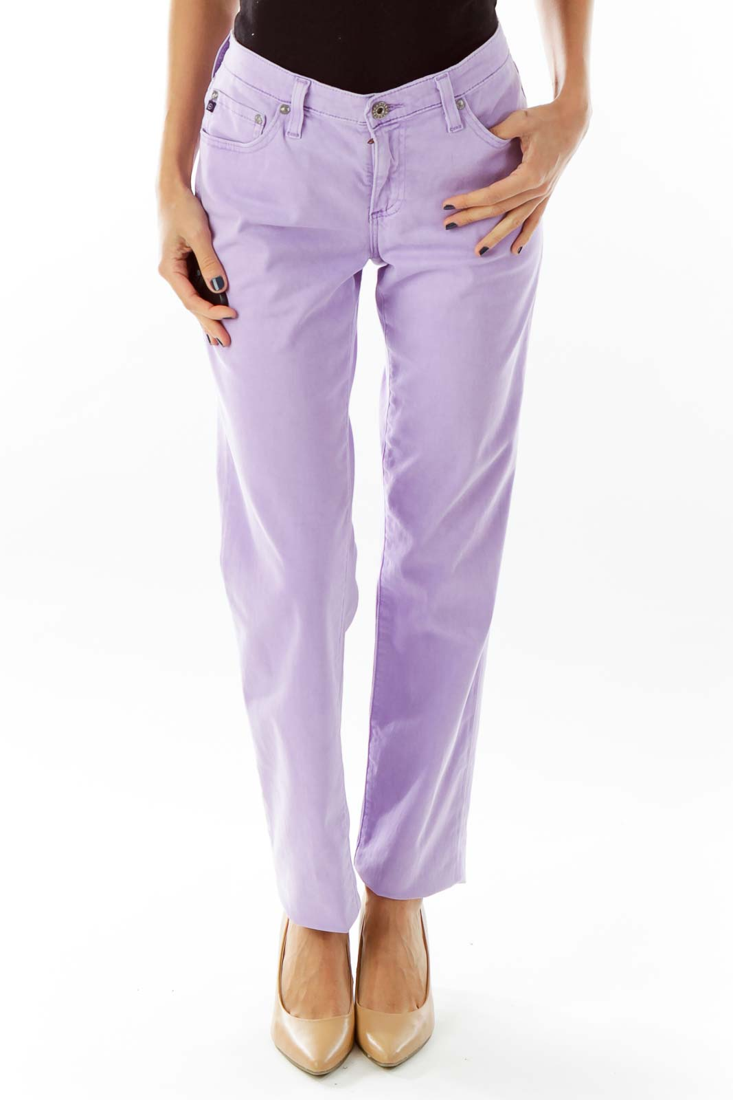 Lavender Fitted Pant