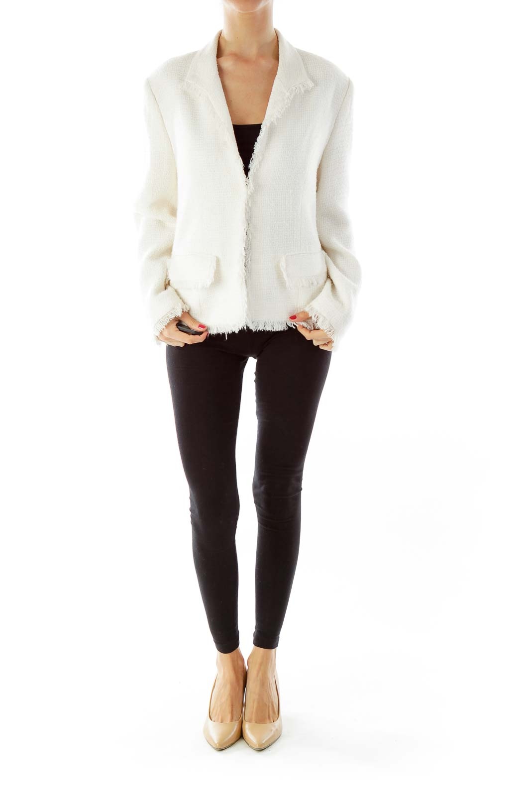 Cream Tweed Jacket