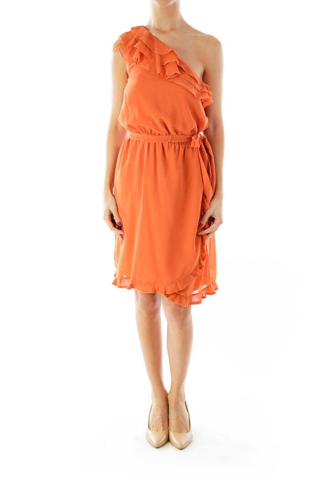 Orange Day Dress