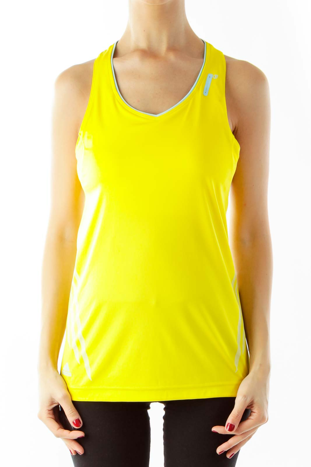 Yellow Sports Top