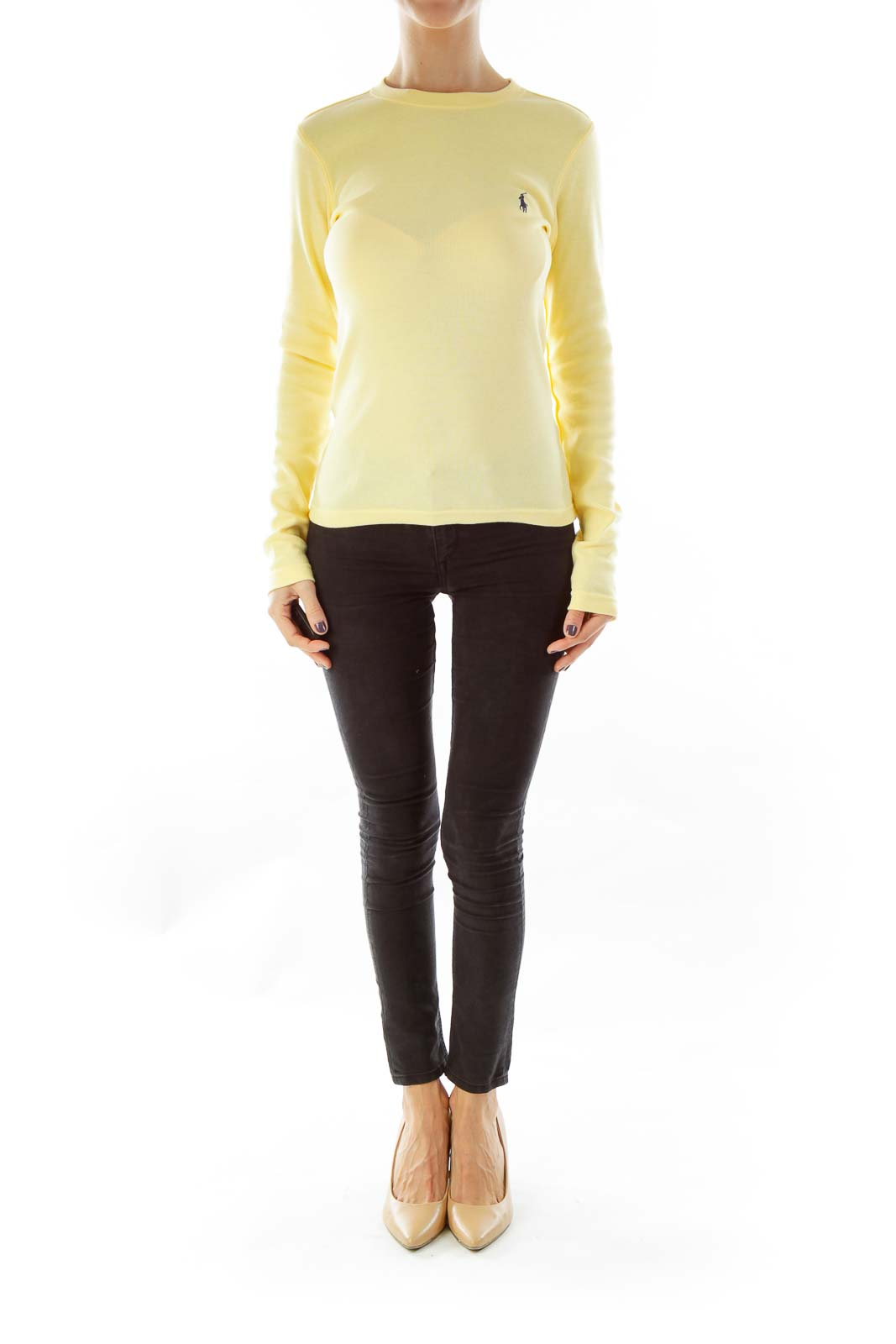 Yellow Long Sleeve Tee