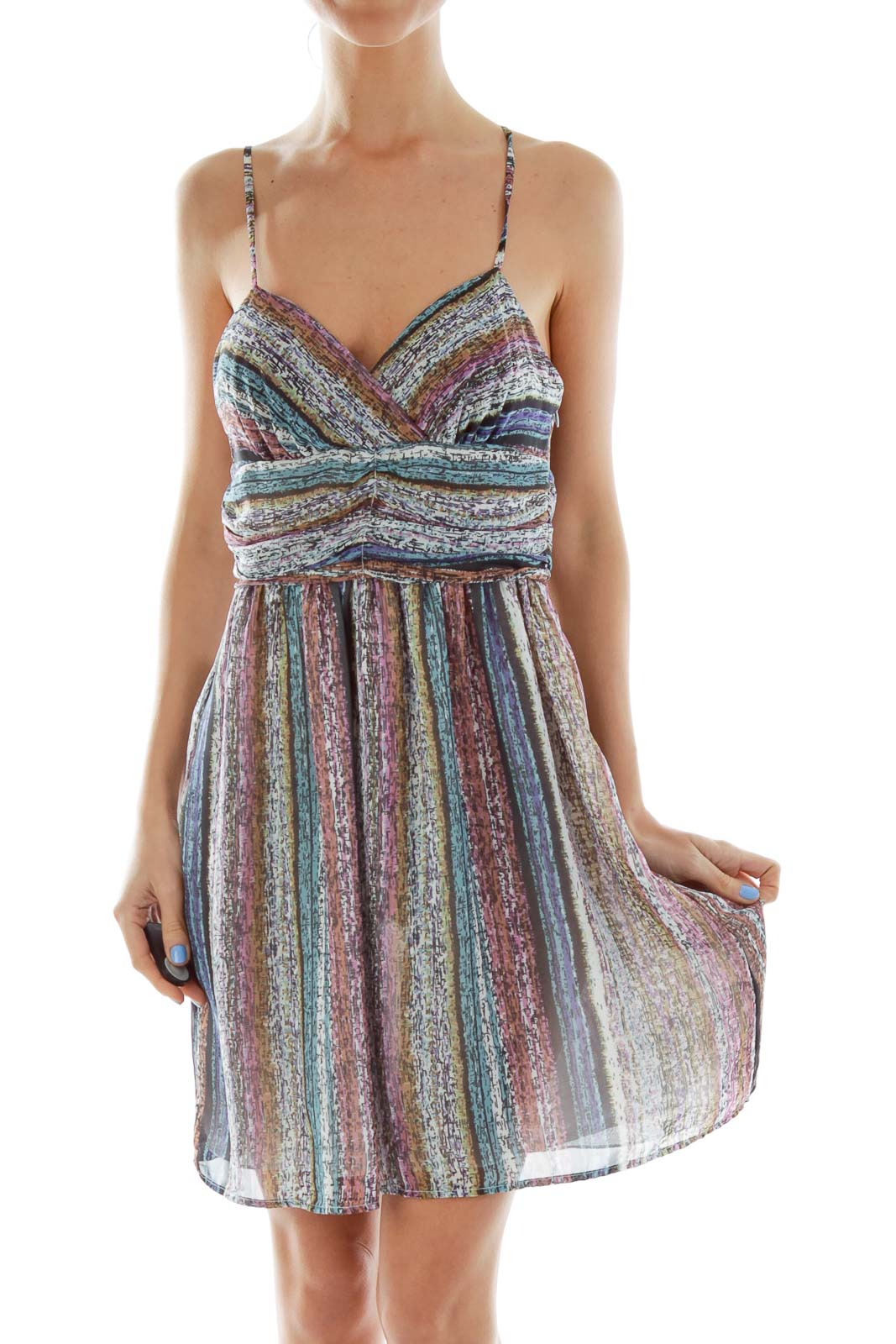 Multicolor Day Dress
