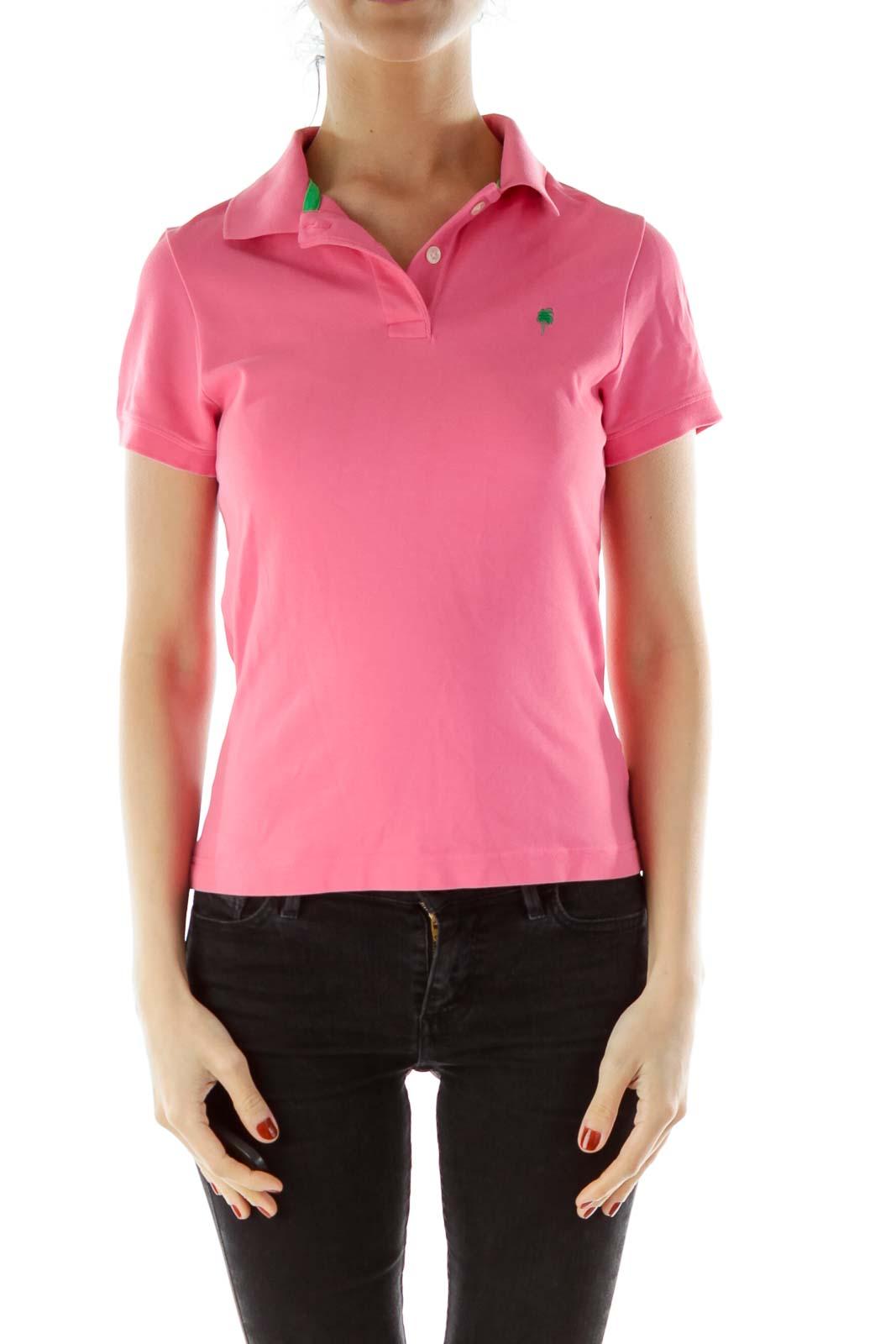 Pink Collared Shirt