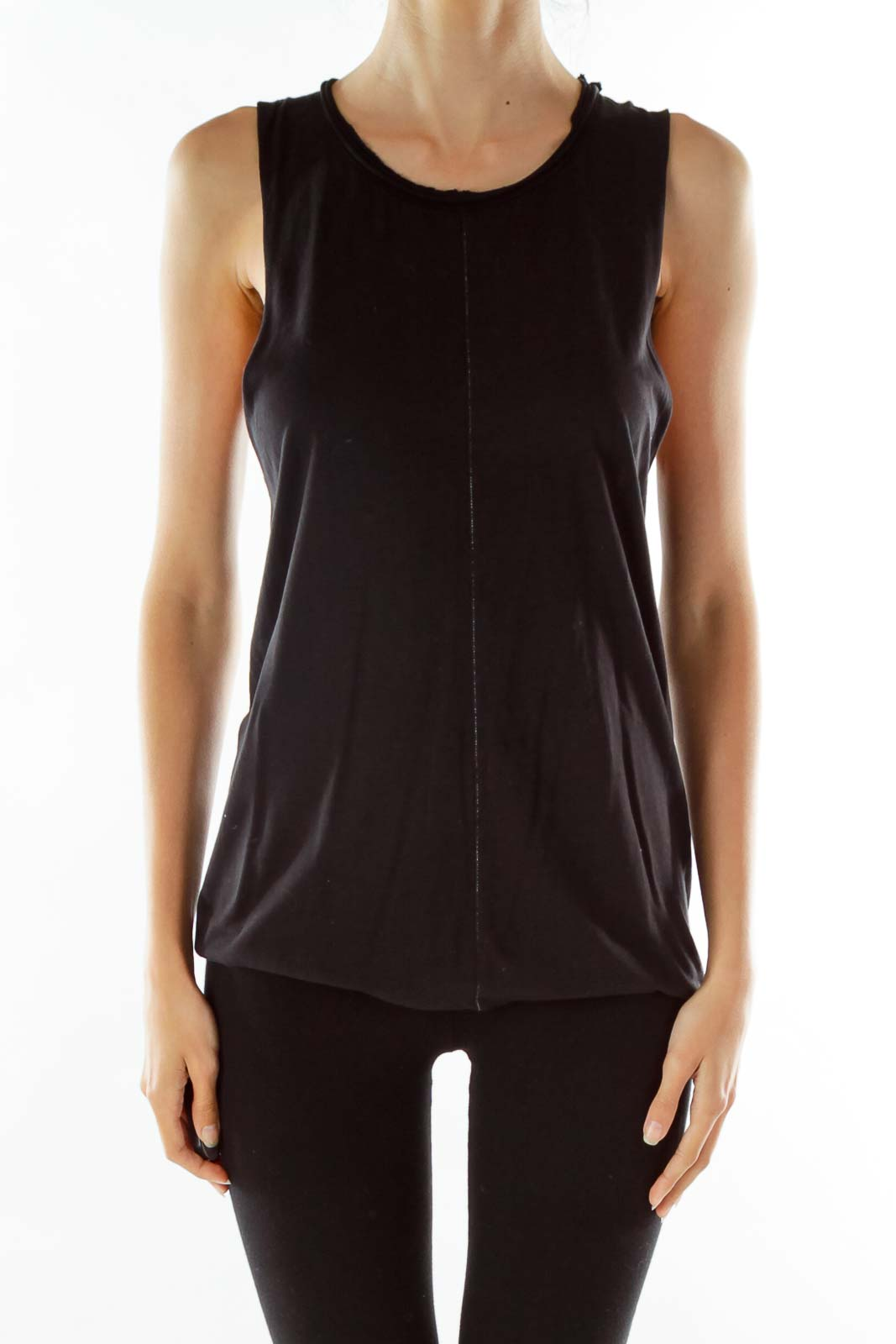 Black Round Neck Shirt
