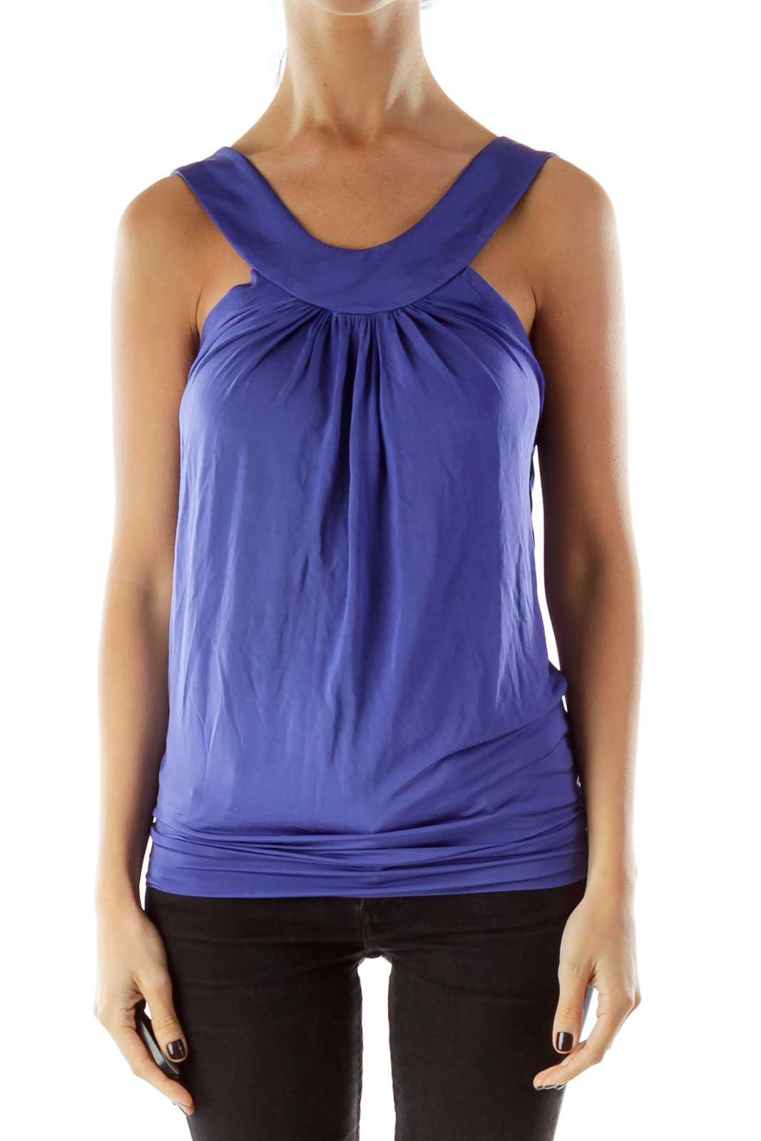 Purple Bandage Yoga Top