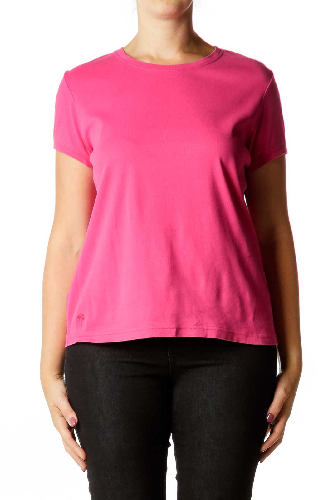 Pink Fitted T-Shirt